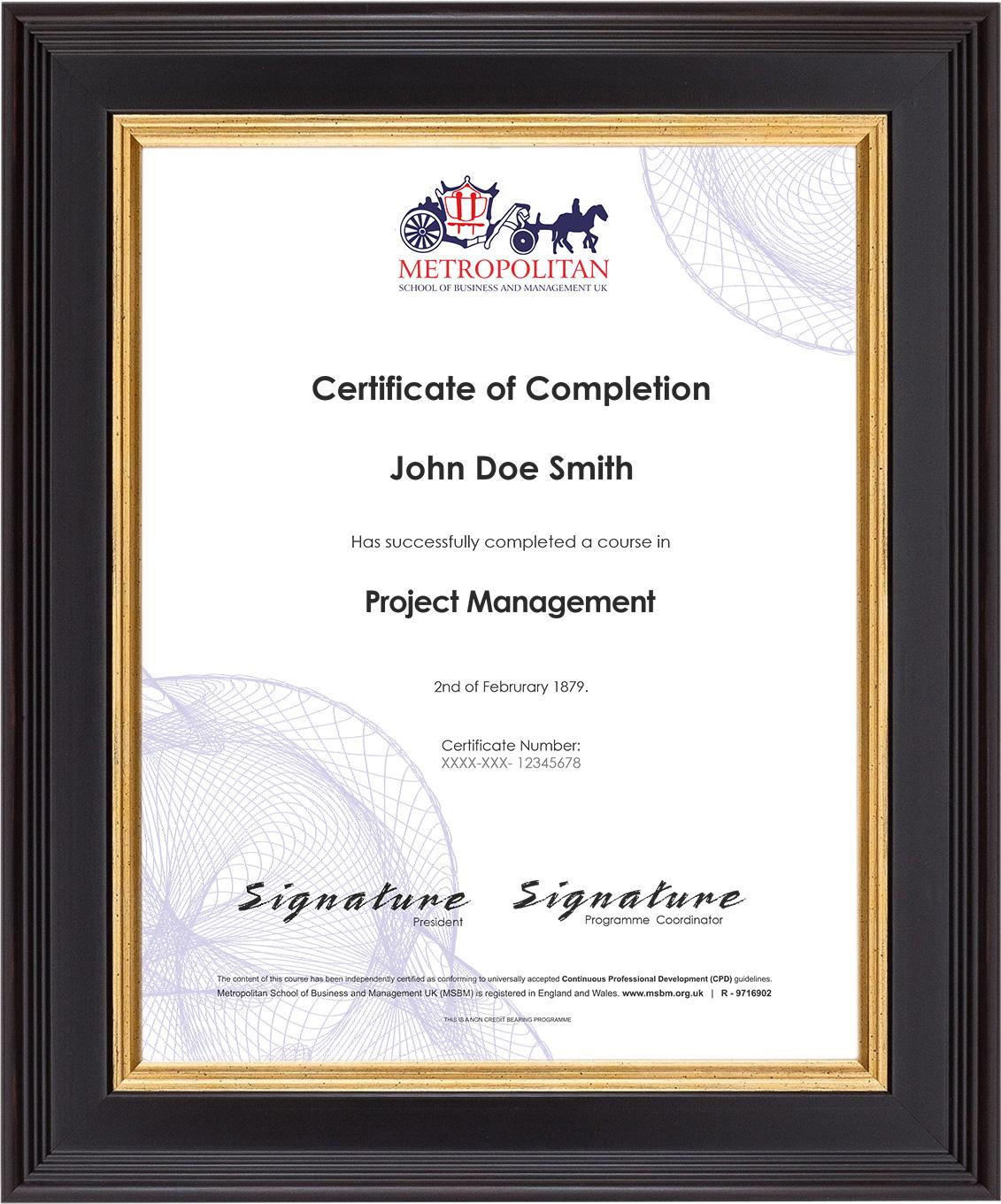 Free-Certificate-Sample